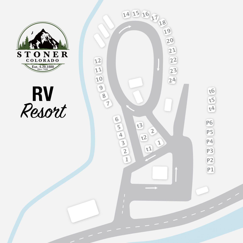Stoner RV Resort Map